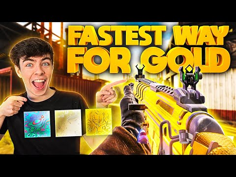 FASTEST WAY TO UNLOCK GOLD / PLATINUM and DAMASCUS in COD Mobile!! (Tips & Tricks)