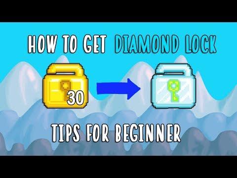 How To Get Diamond Lock (BEST WAY!)💎 | Growtopia