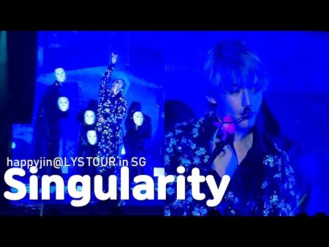 190119 BTS _ Singularity (V Solo) @LYS Tour In Singapore