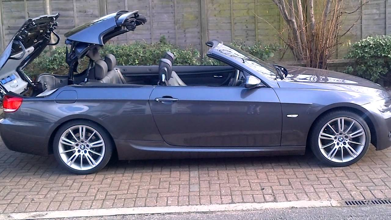 bmw 3 series m-sport convertible - youtube