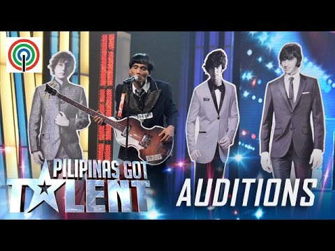 Pilipinas Got Talent Season 5 Auditions: Rolando Parico – Beatles Band Parody