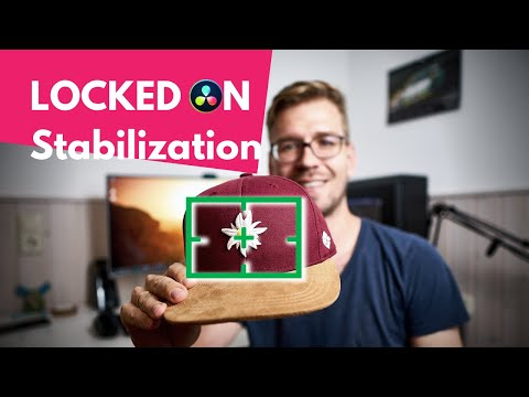 LOCKED ON Stabilization - Davinci Resolve Tutorial - Tracking in Fusion - ENG. SUBS [2019]