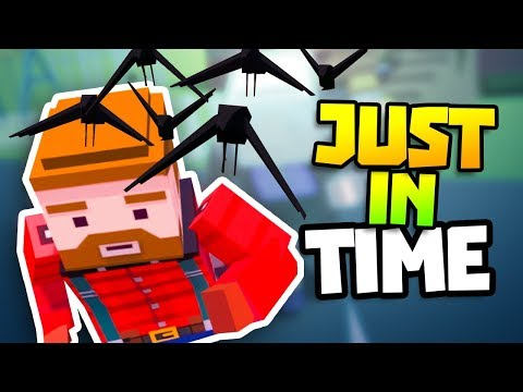 Just in Time Update Virtual Reality Gameplay - VR HTC Vive Gameplay