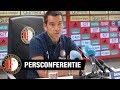 Persconferentie Giovanni van Bronckhorst   Sparta - Feyenoord