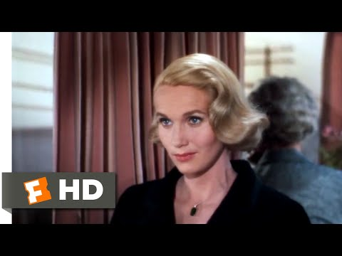 North by Northwest (1959) - Love on a Train Scene (2/10) | Movieclips