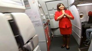 AIRASIA FLIGHT - Bengaluru to Hyderabad Trip Report   Airbus A320