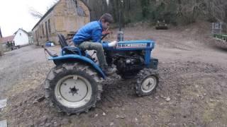 [GOPRO] Présentation de mon micro tracteur et de s'est équipement