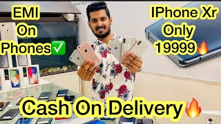 100% Original IPhone Xr Only 19999 🔥 CASH ON DELIVERY! Emi on used phones! 5000 Off On Iphones!