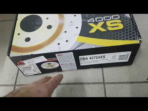 Lexus Lx570 2019. DBA 42724XS DISC BRAKE FRONT. Тормозные диски, 30 т.км без проблем.
