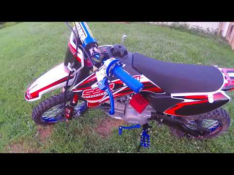 SSR 170TR Pit Bike with Upgrades!