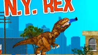 NY Rex Full Gameplay Walkthrough All Levels
