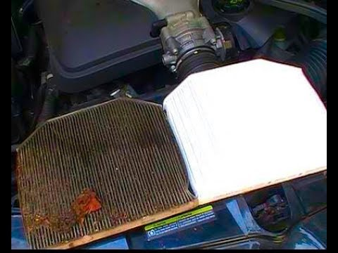 How to Replace Install a Pontiac G8 Cabin Air Filter