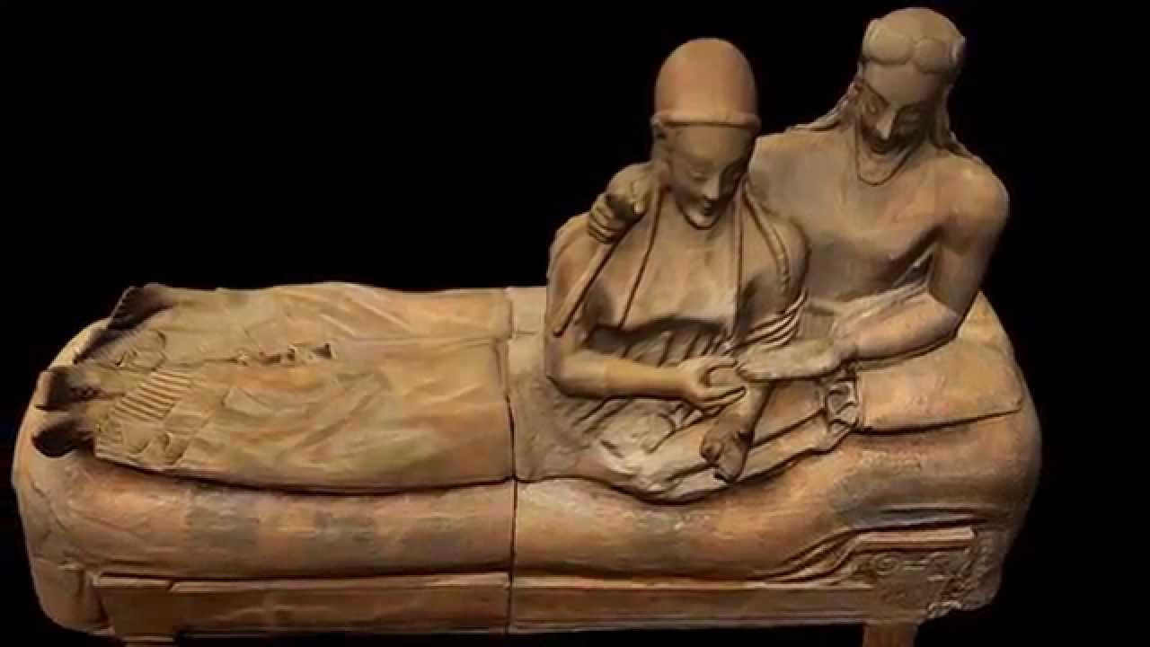 Il sarcofago degli sposi youtube for Degli sposi