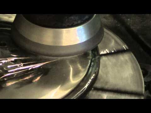Resurfacing A Flywheel