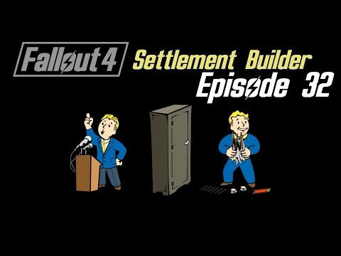 FALLOUT 4: Settlement Builder #32 : Stop stealing my bed!
