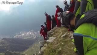 Экстремально::Прыжок с гор...