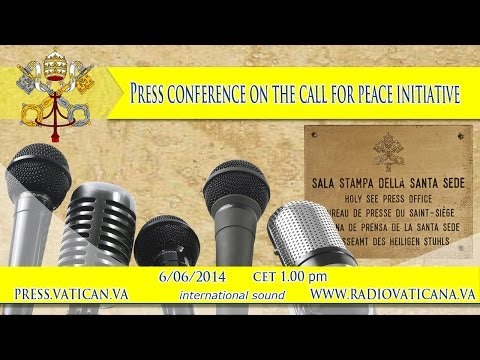 Press conference on the Call for Peace Initiative