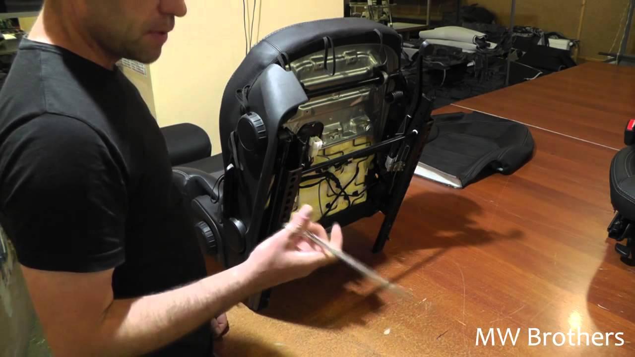 Установка чехлов на передние сиденья правильная установка чехлов