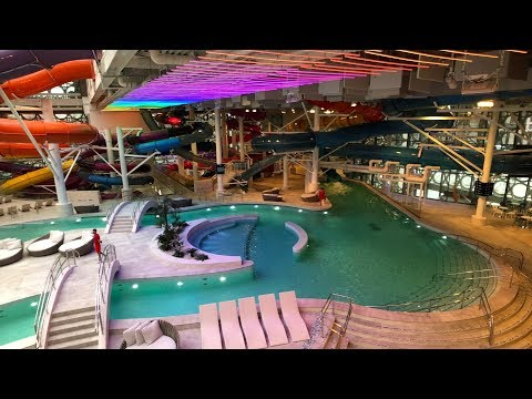 Новый аквапарк в Лужниках. Тест горок. Открытие 17.11.19