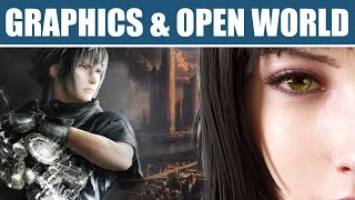 Final Fantasy 15 (FF XV) New Gameplay Trailer: Graphics of the Open World PS4, Xbox One