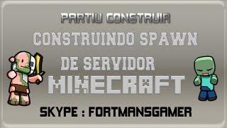 Partiu Construir - Spawn de server