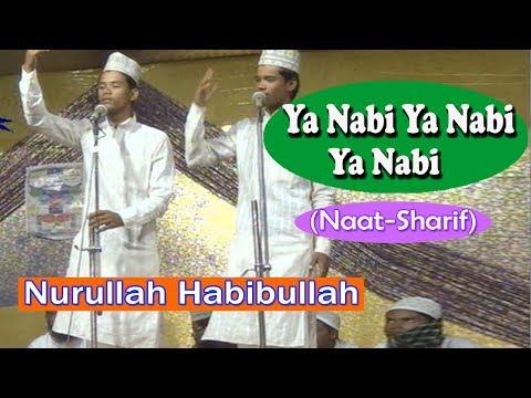 या नबी या नबी या नबी ☪☪ Nurullah Habibullah ☪☪ Latest Urdu Naat Sharif HD New Video