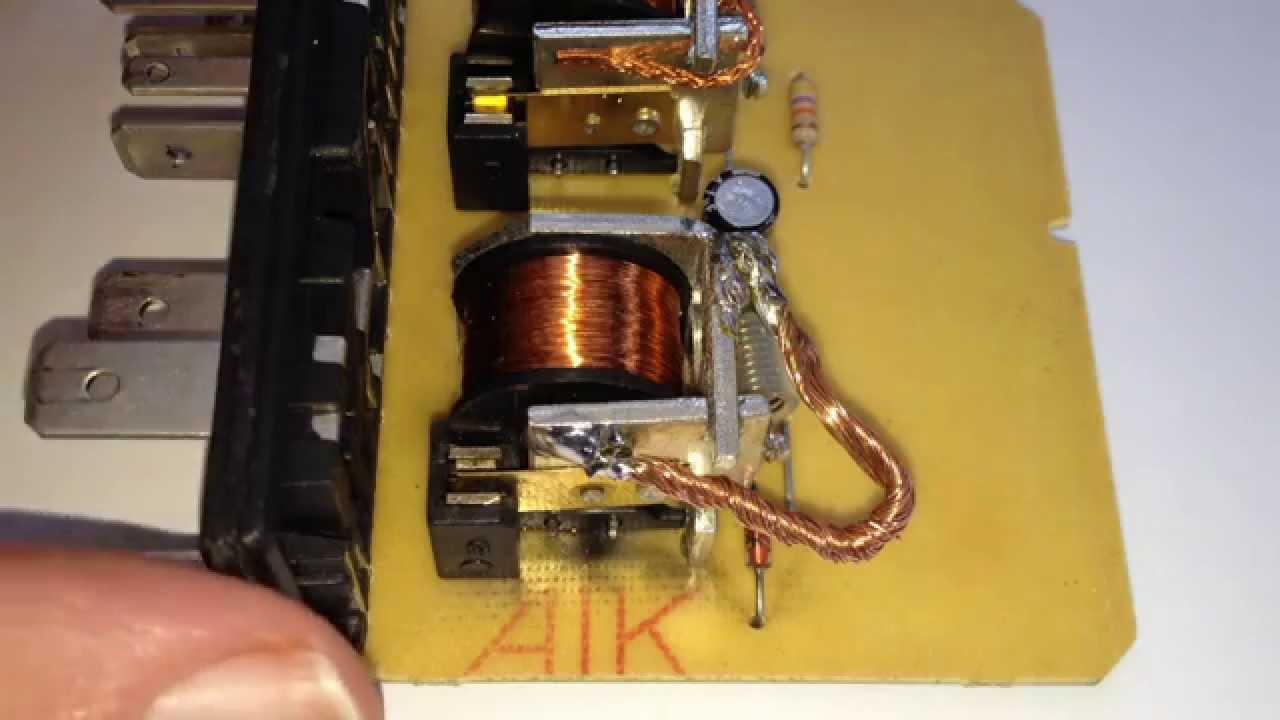 VW Golf Mk4 Wipermotor Relay Troubleshooting YouTube