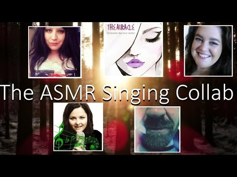 💘 ASMR Singing Collab MinxLaura / Singstar ASMR / The Auracle / Sugar and Spice ASMR 💘