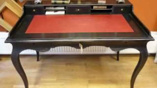 A reproduction of a rococo desk