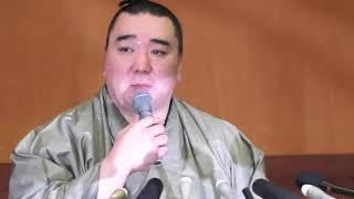 横綱・日馬富士が引退を表明した.