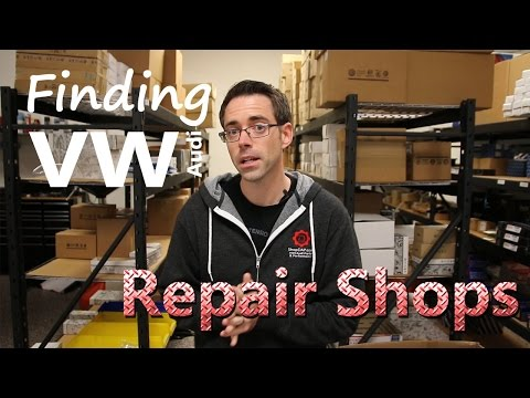 How to Find a VW or Audi Repair (Service) Shop