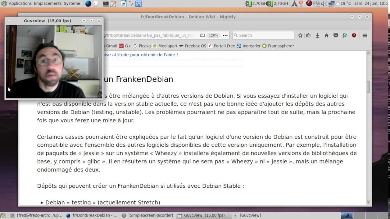 Blog-Notes @VIEIRAEmmanuel : Brouillon pour l'installation logiciels