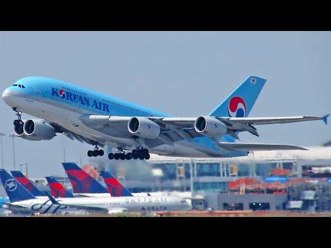 [PART 1] 30 MINUTES OF HEAVIES AT NEW YORK JFK | A380, B747, B777, A340, B767 | HD Plane Spotting