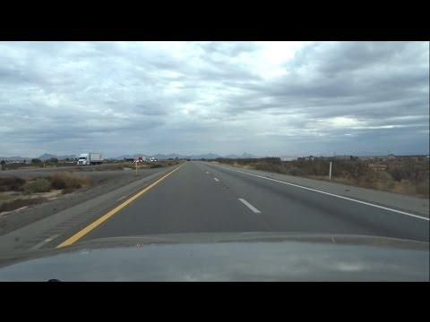 Sony HX80: Road Trip from Tucson, AZ to El Paso, TX I-10 East