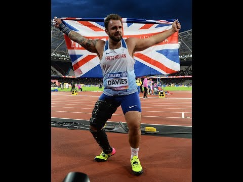 Aled DAVIES Gold Men's Shot Put F42 | Final | London 2017 World Para Athletics Championships