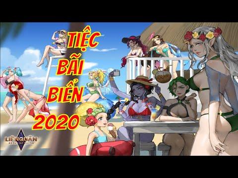 SKIN TIỆC BÃI BIỂN 2020 LIÊN QUÂN MOBILE