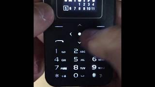 aiek x8 card phone inceleme
