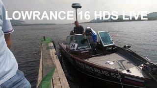 LOWRANCE 16 HDS LIVE.Знайомство і огляд налаштувань і функцій.Експерт Сергій Нікулін .#LOWRANCE LIVE