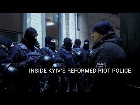 Inside Kyiv's Reformed Riot Police