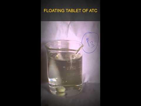 Gastroretentive floating tablets of Atorvastatin