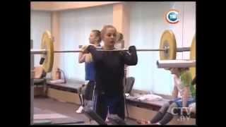 CTV.BY: Женская сборная Беларуси по тяжелой атлетике готовится к ближайшим чемпионатам Европы и мира