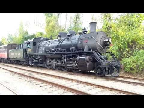 Chasing the Final Providence & Worcester Excursion Train across Connecticut!