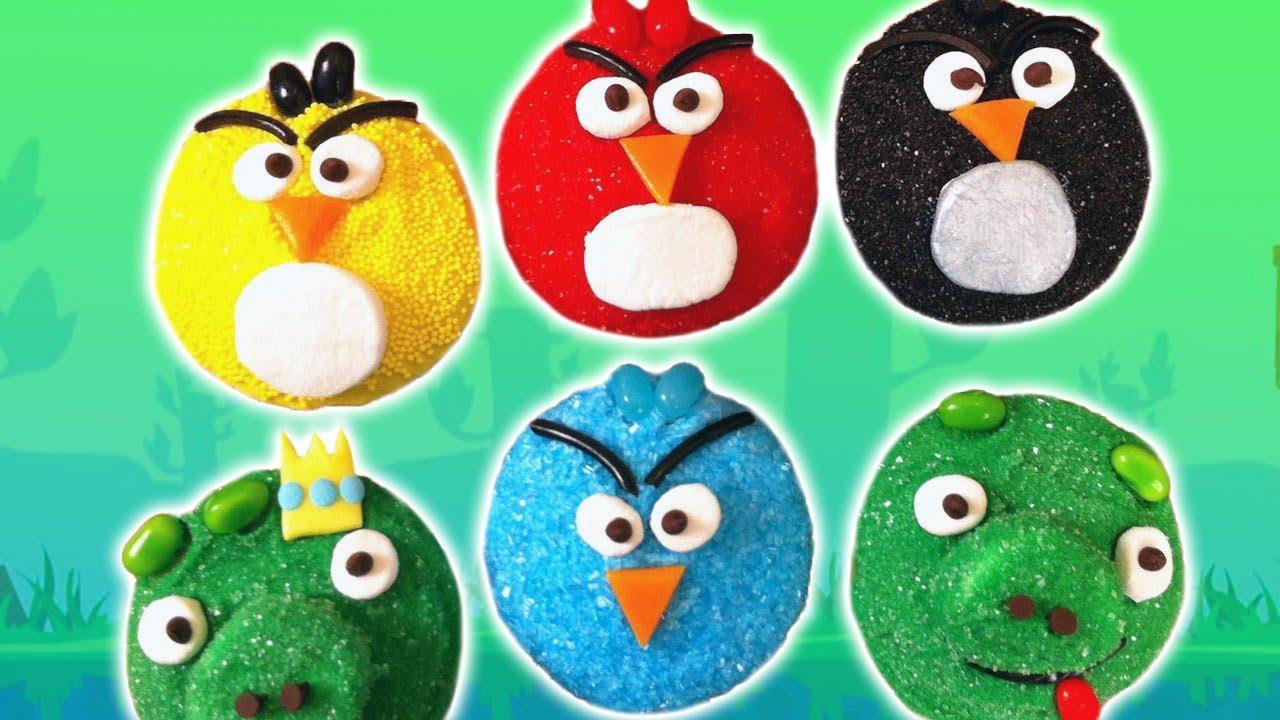 Easy Angry Bird Cake Pops