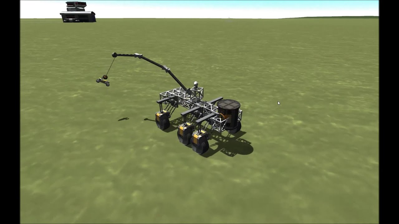 Kerbal Crane Program YouTube