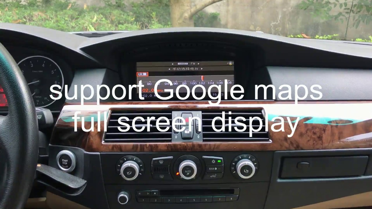 review bmw 5series e60 2005 2010 android car stereo 1280 480 resolution keep oem. Black Bedroom Furniture Sets. Home Design Ideas