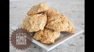 Keto Peanut Butter Cookies - Low Carb Cookie Recipe - Ketogenic Diet