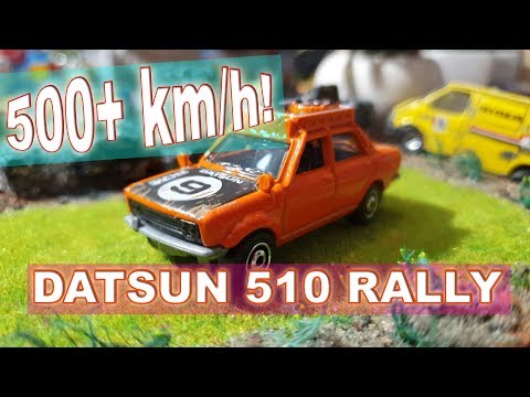 🚗 How FAST is Datsun 510 !?  🔥 Matchbox review!
