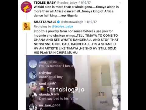 "Timaya: ""I Don't Know Shattawale, Is He A Shoemaker Or A Plumber"" (Video)"
