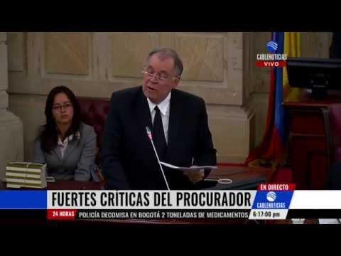 Ordóñez compara el Gobierno de Santos con la dictadura de Hitler