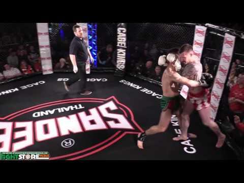 Razvan Piticas vs Stephen O'Neill - Cage Kings Dublin #2